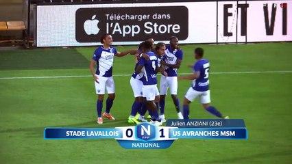 J02 Stade Lavallois - US Avranches MSM (1-3) FFF TV