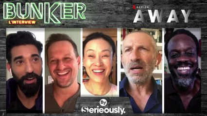 AWAY : Josh Charles, Ato Essandoh, Ray Panthaki, Vivian Wu et Mark Ivanir, l'interview BUNKER