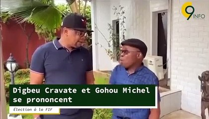 Élection à la FIF: Digbeu Cravate et Gohou Michel se prononcent