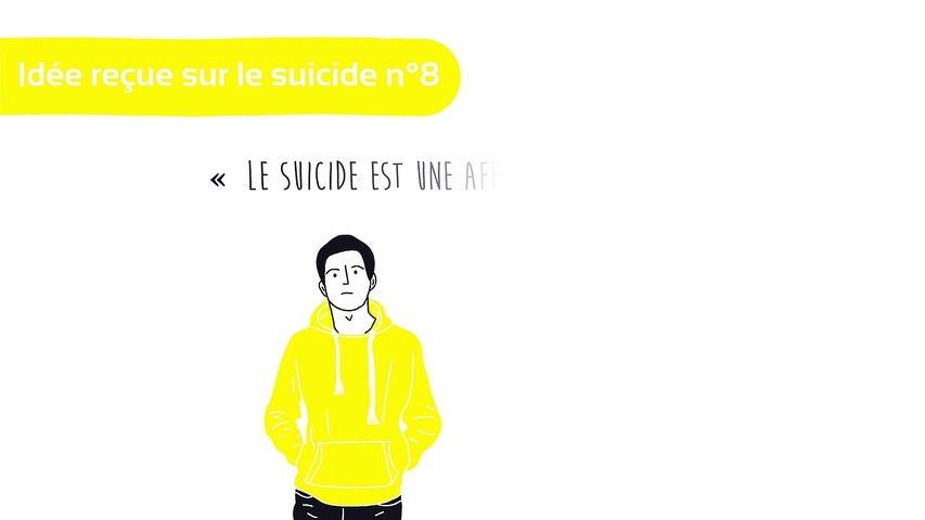 Idée reçue sur le suicide n°8: le suicide est une affaire de jeunes