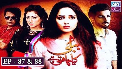 Bubbly Kya Chahti Hai Episode 87 & 88 - ARY Zindagi Drama