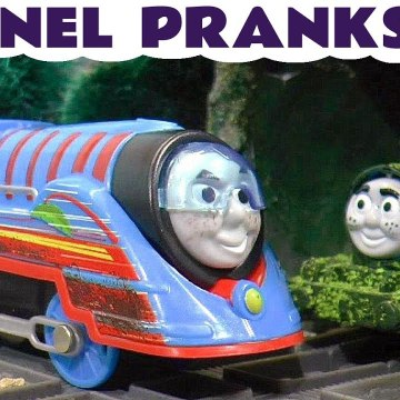 Tom Moss Tunnel Pranks with Thomas and Friends Paw Patrol and DC Comics Poison Ivy from Batman in this Family Friendly Full Episode English Toy Story for Kids from Kid Friendly Family Channel Toy Trains 4U