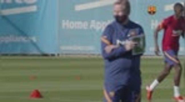 Barça - Messi sèche le premier entraînement dirigé par Koeman