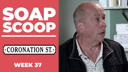 Coronation Street Soap Scoop! Geoff faces the police