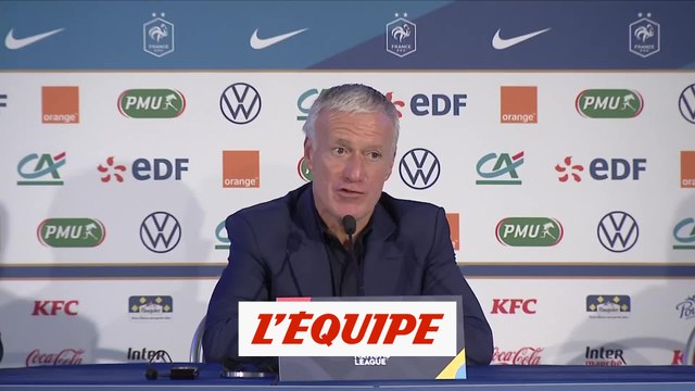 Deschamps : «Camavinga, qu'il garde son naturel» - Foot - Bleus