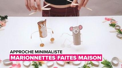Approche minimaliste : faites vos marionnettes à la maison