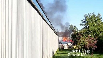 Incendie (Gracieuseté - Érick Rivest)