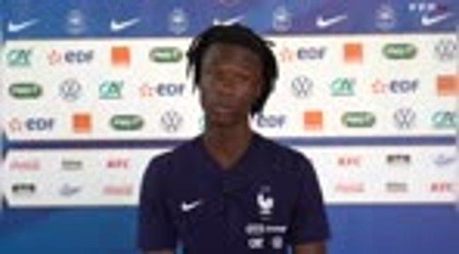 """France - Camavinga : """"Jouer avec les Bleus, ce serait fabuleux"""""""