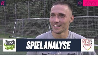Die Spielanalyse | SV Pars Neu-Isenburg - Spvgg 03 Neu-Isenburg (Kreispokal Offenbach)