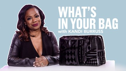 What's In Your Bag?   Kandi Burruss