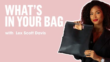 Lex Scott Davis Shows Us What's In Her Bag   What's In Your Bag