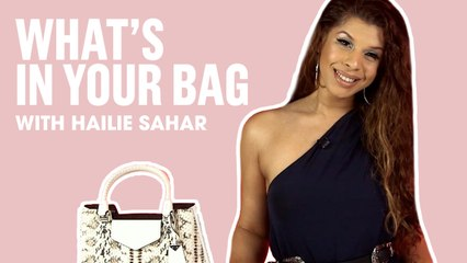 'Pose' Star Hailie Sahar Shows Us What's In Her Bag