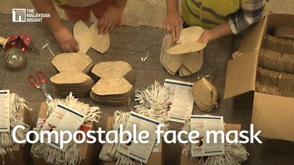 This compostable face mask could tackle plastic waste dilemma
