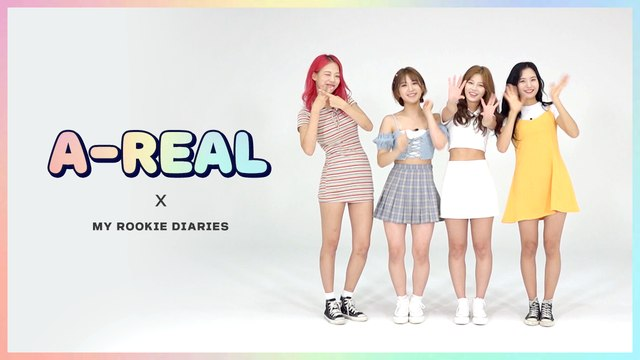 [Pops in Seoul] ☆MY ROOKIE DIARIES☆ 'A-REAL(에이리얼)' Edition!