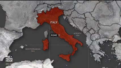 After Italy's Pandemic Nightmare, Economy Falters - And Poverty Spreads