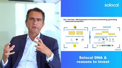 Part 1 - Solocal DNA & reasons to invest