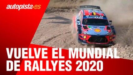 Vuelve el Mundial de Rallyes 2020 seis meses después