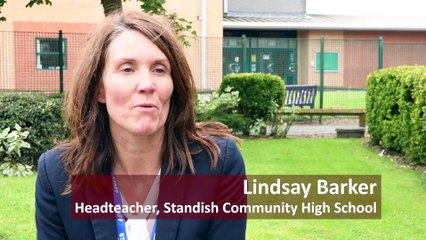Standish Community High School welcomes back pupils and staff