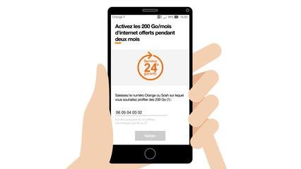 Le partage de connexion sur mobile IOS pour continuer à utiliser internet en cas de panne - Orange