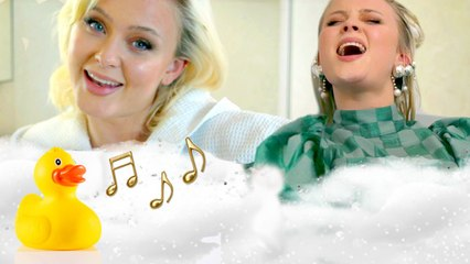 Zara Larsson Sings Destiny's Child and Tori Kelly in the Tub | Singing In The Shower | Cosmopolitan