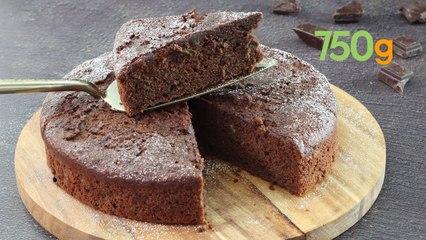 Recette du gâteau moelleux au chocolat et à la courgette - 750g