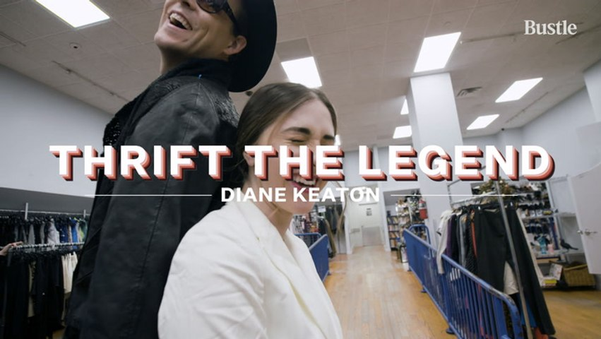 How To Thrift DIANE KEATON's Looks Using ONLY Thrifted Items | Bustle