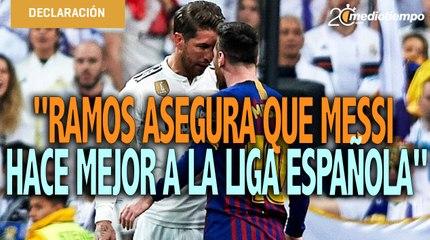 Messi se ha ganado el respeto de decidir su futuro: Sergio Ramos