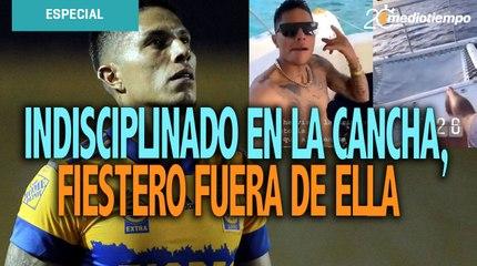 Tigres multa a Salcedo por fiesta en Cancún y no jugará ante Chivas