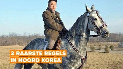 Vreemde regels in Noord Korea