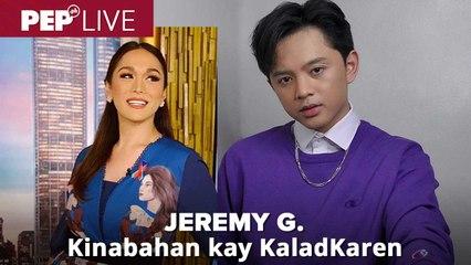 Jeremy G., kinabahan nang makasama si KaladKaren | PEP Live Choice Cuts