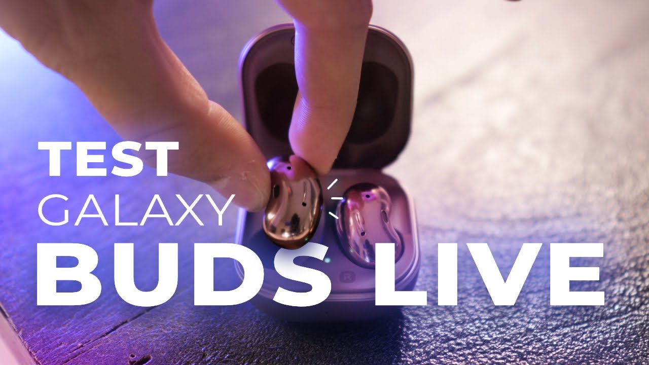 100€ trop cher, clairement. TEST des Galaxy Buds Live de Samsung