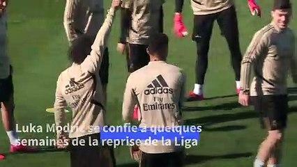 "Football/Liga: ""Si Messi quitte le FC Barcelone, ce serait une grosse perte pour la Liga"" (Modric)"