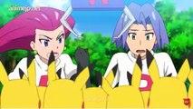 La Team Rocket cherche à retrouver Pikachu dans une machine attrape-peluches
