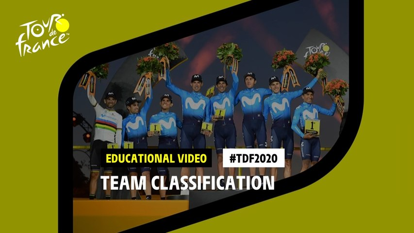 #TDF2020 The story of team classification