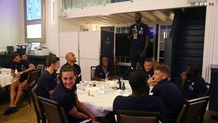 Le bizutage de Camavinga et Upamecano en équipe de France