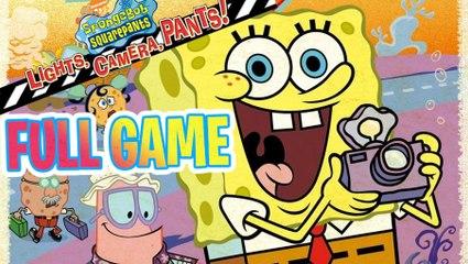 SpongeBob Lights, Camera, Pants! FULL GAME Longplay (PC)