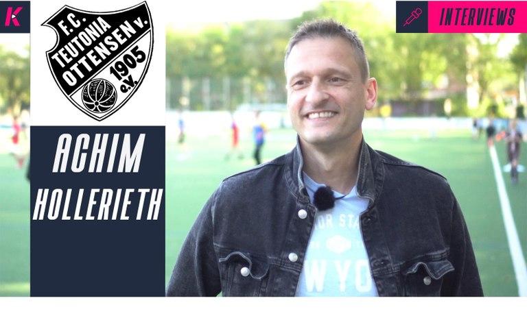 Regionalliga-Vorfreude und hohe Ambitionen: Achim Hollerieth über die 4. Liga-Premiere des FC Teutonia 05