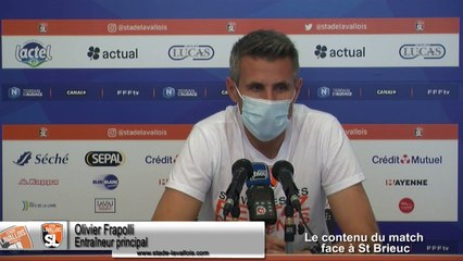 (J04) Laval vs SC Lyon, avant-match avec O.Frapolli