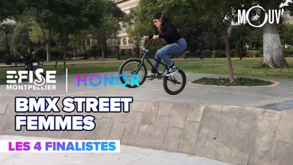 Top 4 BMX Street Pro Femmes | E-FISE Montpellier by Honor