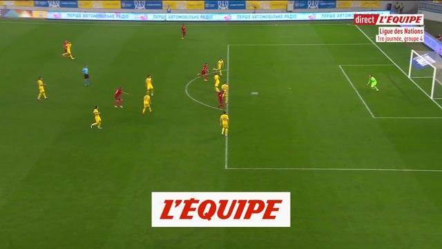 Les buts d'Ukraine-Suisse en vidéo - Foot - Ligue des nations