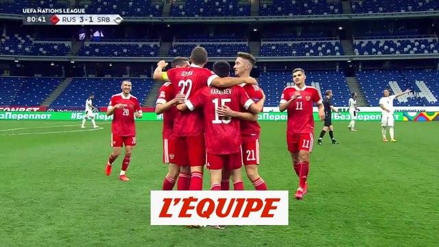 Les buts de Russie-Serbie en vidéo - Foot - Ligue des nations
