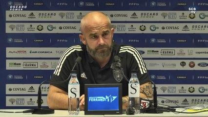 SC Bastia 0-1 US Boulogne CO : Conf. d'après-match de M. Chabert