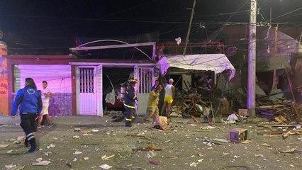 Explosión en inmueble deja varias viviendas con daños estructurales en Coacalco