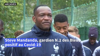 Football: Steve Mandanda, gardien N.2 des Bleus, positif au Covid-19