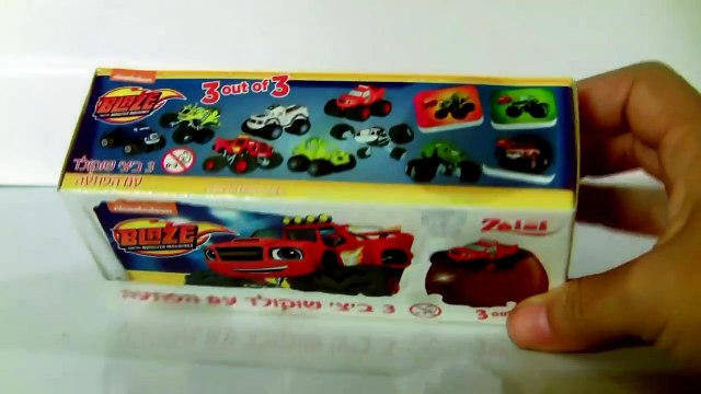Blaze Toys Surprise from Blaze and the Monster Machines Cars Trucks by Funtoys