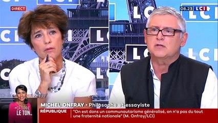 """Michel Onfray défend """"Valeurs actuelles"""" : """"On a le droit à la fiction !"""""""