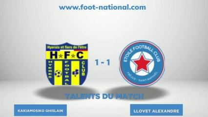TALENT FOOT NATIONAL - 3ème journée National 2 Groupe C