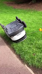 Popular delivery robot rescued by young man in Milton Keynes