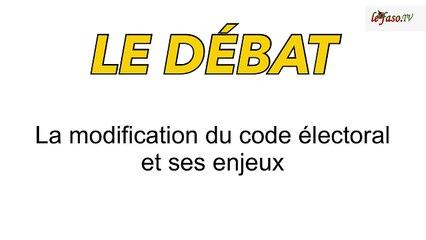 Modification du code électoral : Les implications débattues sur Lefaso.TV