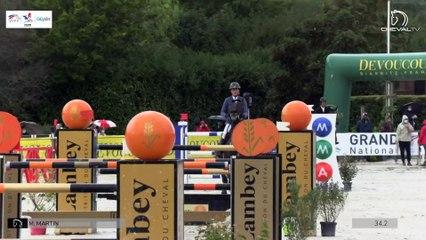 GN2020 | SO_07_Tours | Pro Elite Grand Prix (1,50 m) Grand Nat | Erwan CADIOU | AZURE DES ROCHES